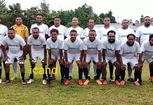 Boas Salossa, Perkuat Tim Freekick FC, di Christmas Persipura Mini Turnamen 2020. Richard (LPC)